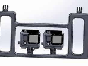 Dual GoPro Dive Tray