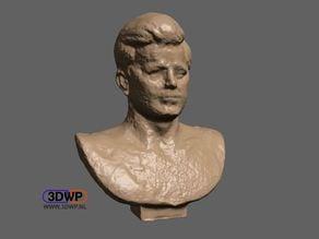 John F. Kennedy Bust (JFK statue 3D Scan)