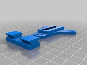 Logitech Z906 mount flipped screwholes.