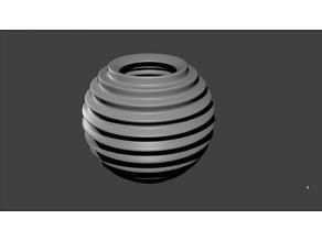 spherical bowl