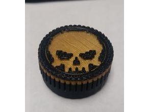 Atari 2600 Paddle Replacement Wheel Remix-Skull