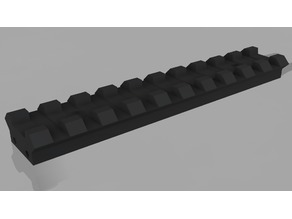 Tactical Rail 21mm V1.2 & V2.5
