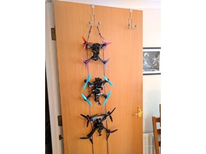 FPV Quadcopter Drone Paracord Overdoor Hangers