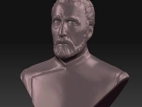 Sir Christoper Lee Memorial Bust (1922 - 2015)