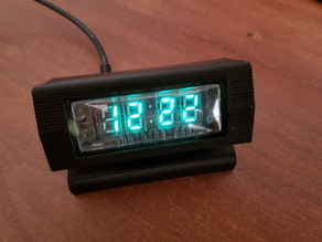 IVL2 VFD WiFi desk clock