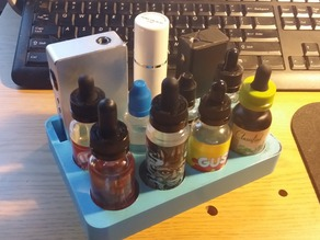 Vape Station Mod and Juice Holder