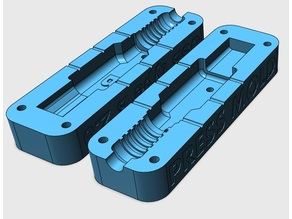 Press mold for USB type B 2.0 plug connector