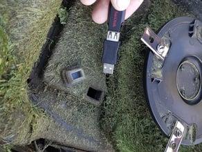 Worx Landroid battery hatch