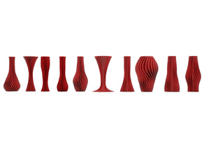 10 twisted vases