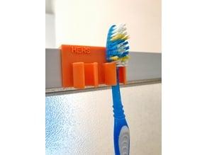 Shower Toothbrush Holder