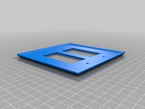 My Customized Square Wall Plate Cover Customizer - SQUARE WALLY