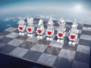 Bot Chess Set white #Chess