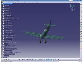 SuperMarine Spitfire Catia Model