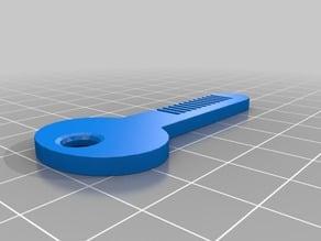 LLave peine (comb key)