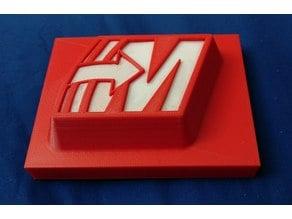 2 Color Mastercam Logo