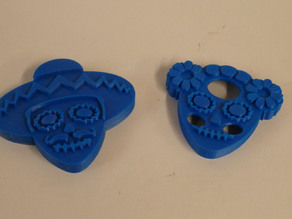 Day of the Dead cookie cutters