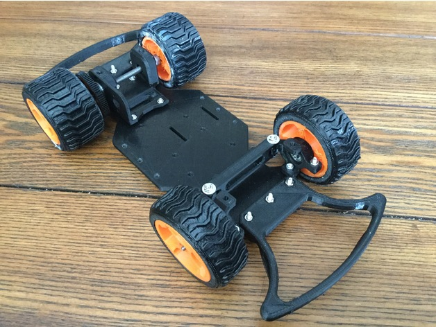 DIY RC Street Racing Car: One Week Classroom Project by