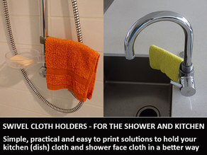 Swivel Cloth Holders