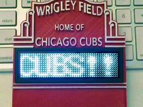 Wrigley Field Marquee Standing Sign