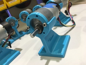 DC motor stand
