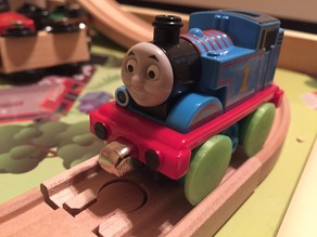 Thomas The Train Wheel Conversion (take-n-play to wooden)