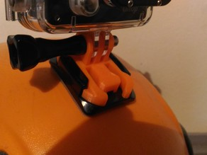 GoPro quick release two-part clip