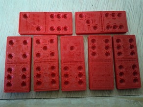 Set of Dominoes for printing