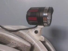 Helmet light mount