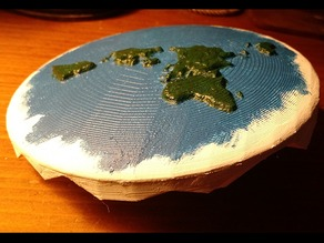 Flat Earth Globe