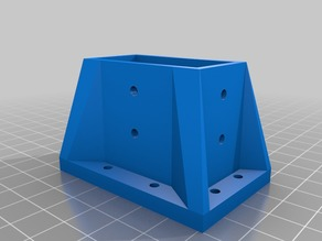 Ian's Customized Parametric Fixing Table Leg -OpenScad