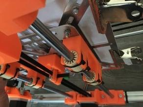 Redesigned K8200 Y bearing holder for LM10UU or IGUS