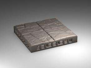 Cracked Stone OpenLOCK Tiles