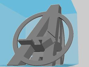 Avengers phone stand