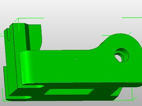 Lulzbot Extruder Idler Block for Greg/Wade style extruders - Heatset Insert Edition