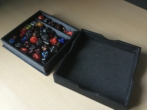 Simple dice tray