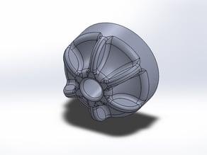 Thumb wheel for 13mm nut