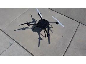 SpaceShip Drone Yuneec Q500 Redesign 3D Printable