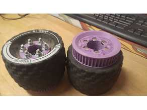 Parametrical Pulley for MBS All terrain electric skateboard wheel
