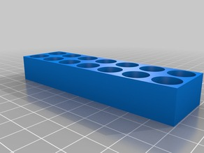 My Customized parametric ER type collet holder