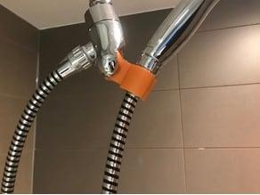 shower head offset