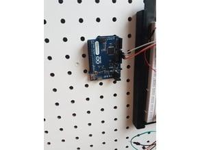 Arduino Pegboard Mount