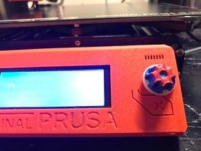 Round knob Prusa MK3