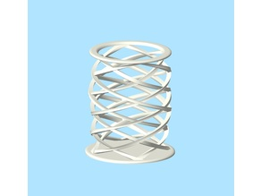 Spiral Container Open Mesh