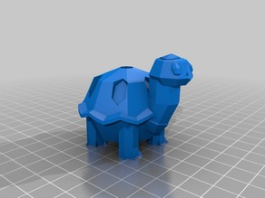 Torkoal Low Poly Pokemon