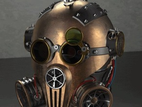 Steam Punk Head created in PARTsolutions