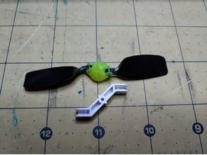Micro Folding Prop Pusher (Horizon UMX Radian parts)