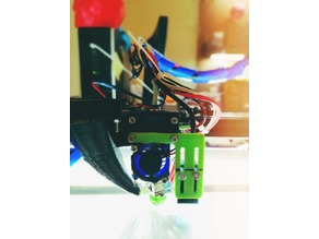 Flsun Sliding Induction sensor mount