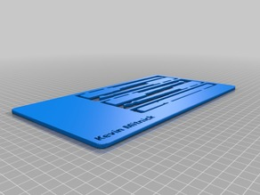 Mitnick card (for printbox3d)