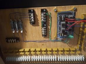 Arduino 2560 Mega Panel Mount Bracket
