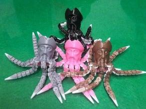 Davy Jones Octopus Man